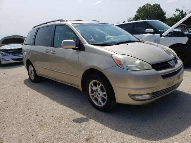 Salvage cars for sale from Copart Milwaukee, WI: 2005 Toyota Sienna XLE