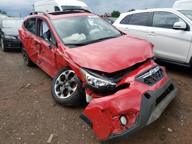 Rental Vehicles for sale at auction: 2021 Subaru Crosstrek