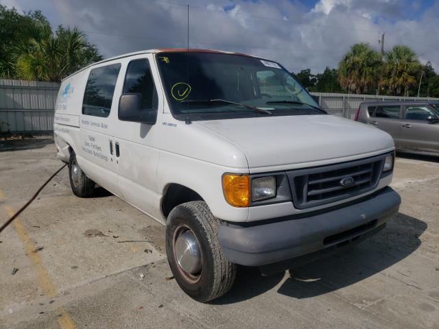 Salvage cars for sale from Copart Punta Gorda, FL: 2006 Ford Econoline