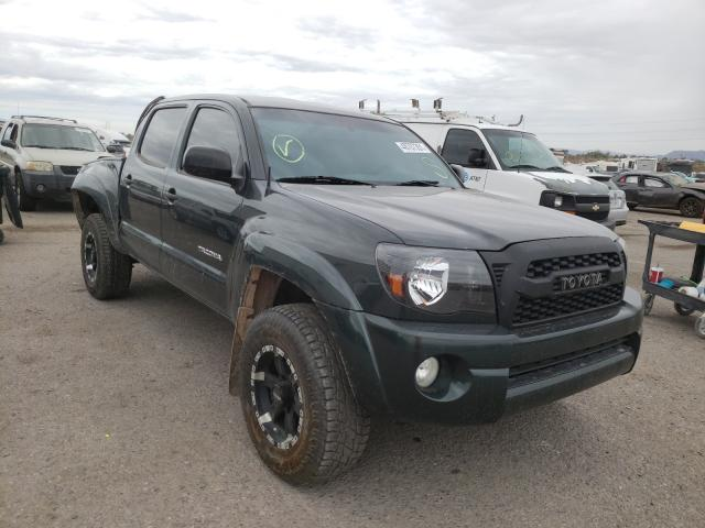 Salvage cars for sale from Copart Tucson, AZ: 2010 Toyota Tacoma DOU