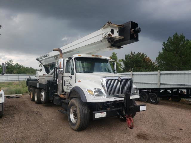 Salvage trucks for sale at Littleton, CO auction: 2004 International 7000 7600