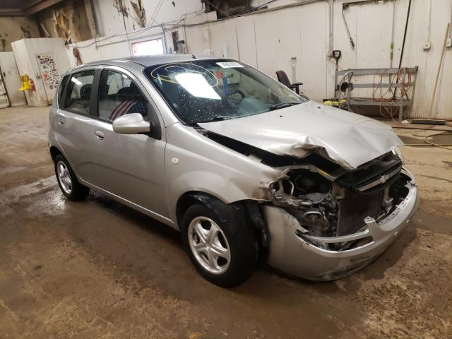Salvage cars for sale at Casper, WY auction: 2005 Chevrolet Aveo Base