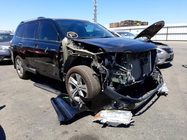 Vehiculos salvage en venta de Copart Fresno, CA: 2011 Toyota Highlander