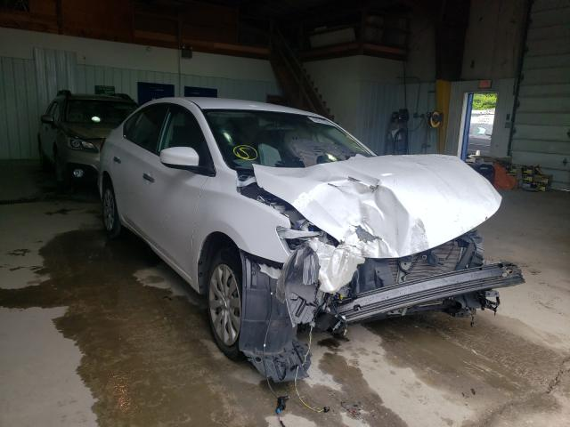Salvage cars for sale from Copart Glassboro, NJ: 2019 Nissan Sentra S