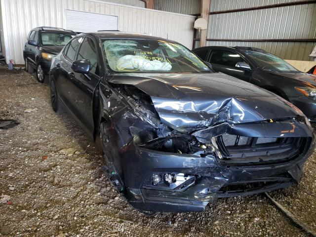 Salvage cars for sale from Copart Houston, TX: 2021 Volvo S60 T5 MOM
