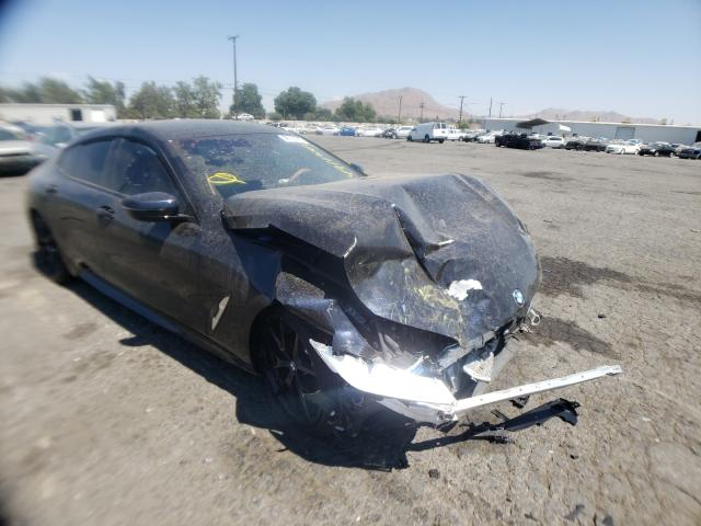 Salvage cars for sale from Copart Colton, CA: 2020 BMW 840I