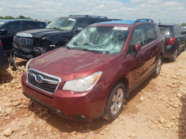 2015 SUBARU FORESTER 2.5I LIMITED, JF2SJAHC8FH****** - 2