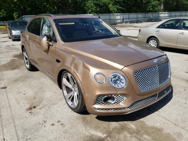 Salvage cars for sale from Copart Ellwood City, PA: 2018 Bentley Bentayga