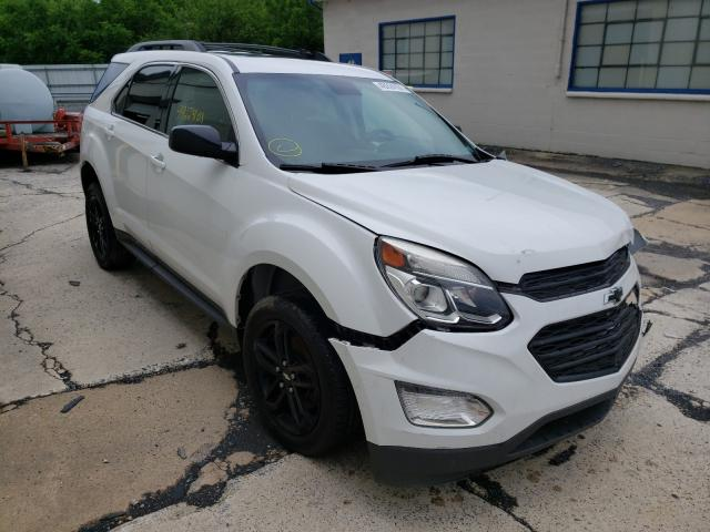 Salvage cars for sale from Copart Grantville, PA: 2017 Chevrolet Equinox LT