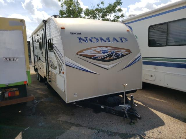 Nomad salvage cars for sale: 2014 Nomad Travel Trailer
