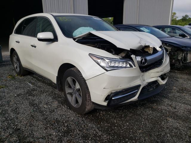 Acura MDX salvage cars for sale: 2016 Acura MDX
