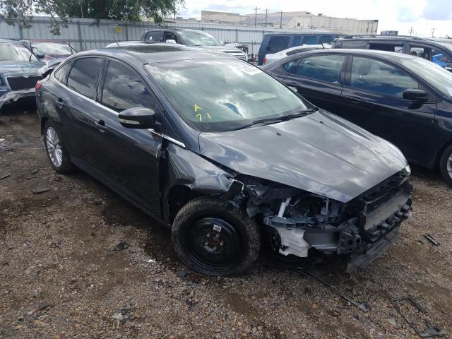 Vehiculos salvage en venta de Copart Mercedes, TX: 2017 Ford Focus Titanium