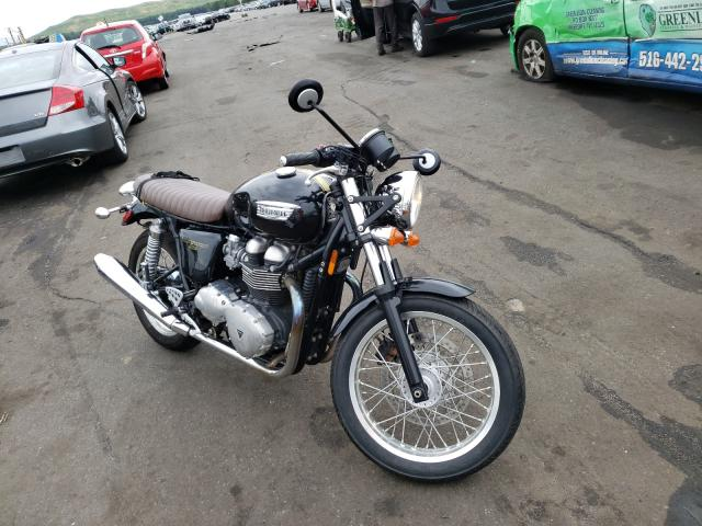 Salvage cars for sale from Copart Brookhaven, NY: 2014 Triumph Thruxton