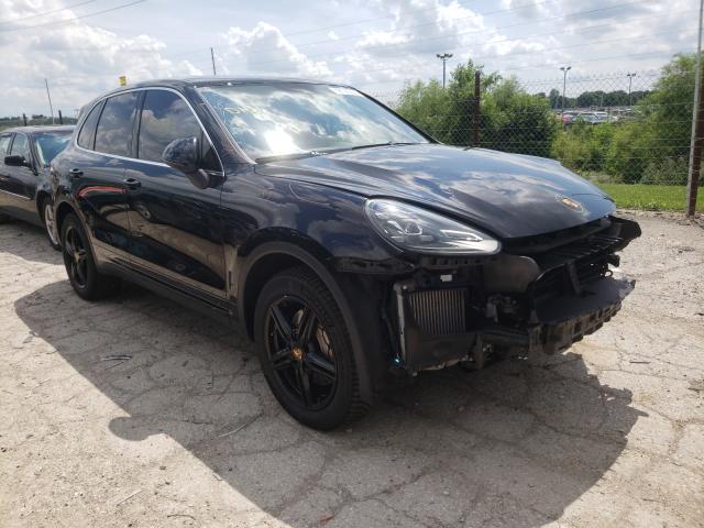 Vehiculos salvage en venta de Copart Indianapolis, IN: 2016 Porsche Cayenne S