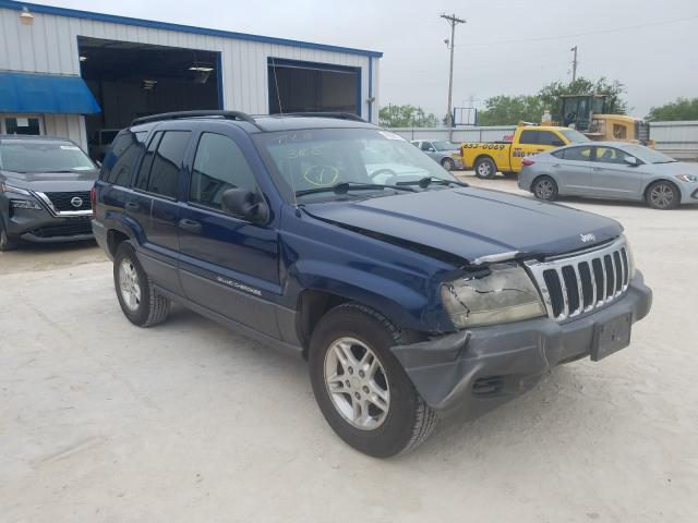 Salvage cars for sale from Copart Abilene, TX: 2002 Jeep Grand Cherokee