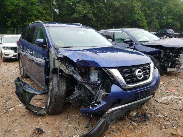 Salvage cars for sale from Copart Austell, GA: 2020 Nissan Pathfinder