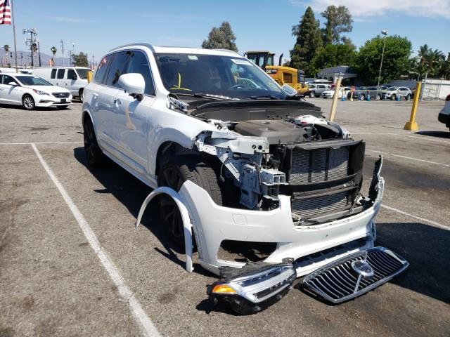 Salvage cars for sale from Copart Van Nuys, CA: 2020 Volvo XC90 T6 MO