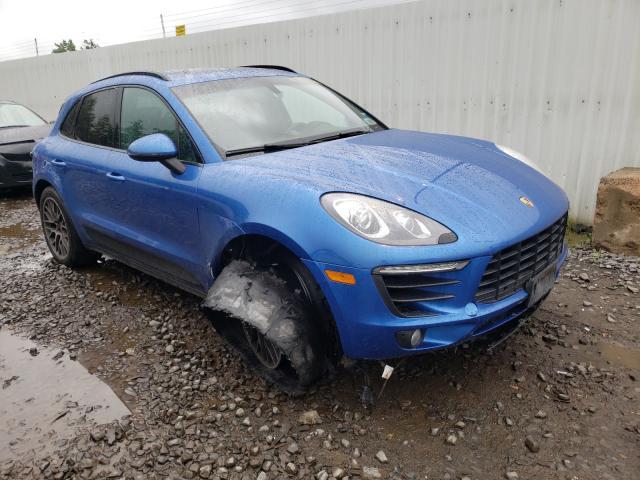 Porsche Vehiculos salvage en venta: 2015 Porsche Macan S