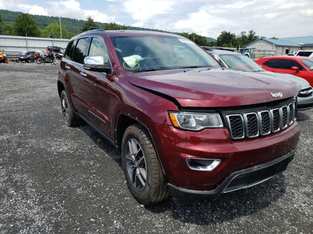 Salvage cars for sale from Copart Grantville, PA: 2018 Jeep Grand Cherokee