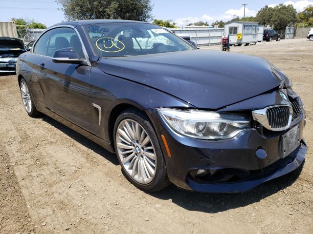 BMW 428 I Sulev salvage cars for sale: 2014 BMW 428 I Sulev