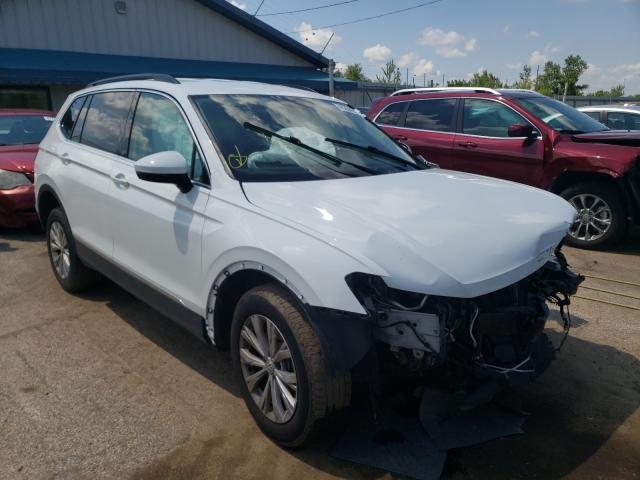 Salvage cars for sale from Copart Pekin, IL: 2018 Volkswagen Tiguan SE