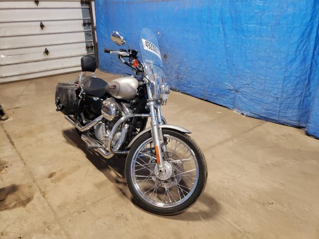 Salvage motorcycles for sale at Columbia Station, OH auction: 2008 Harley-Davidson XL883 C