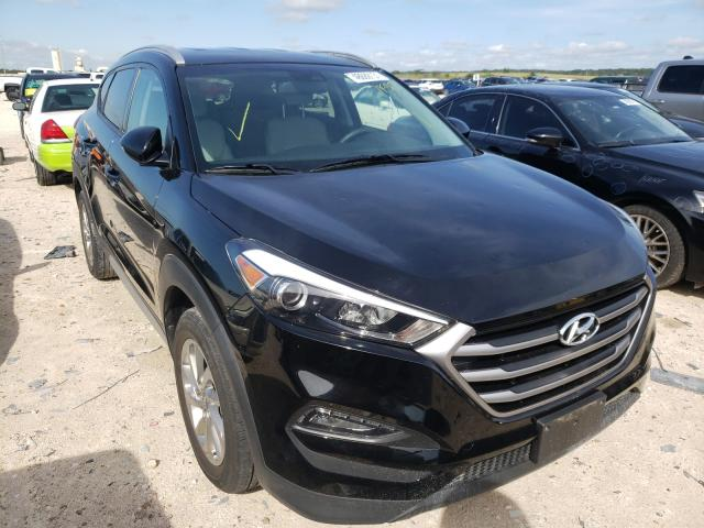 Salvage cars for sale from Copart New Braunfels, TX: 2018 Hyundai Tucson SEL