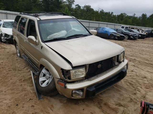 Infiniti QX4 salvage cars for sale: 2000 Infiniti QX4