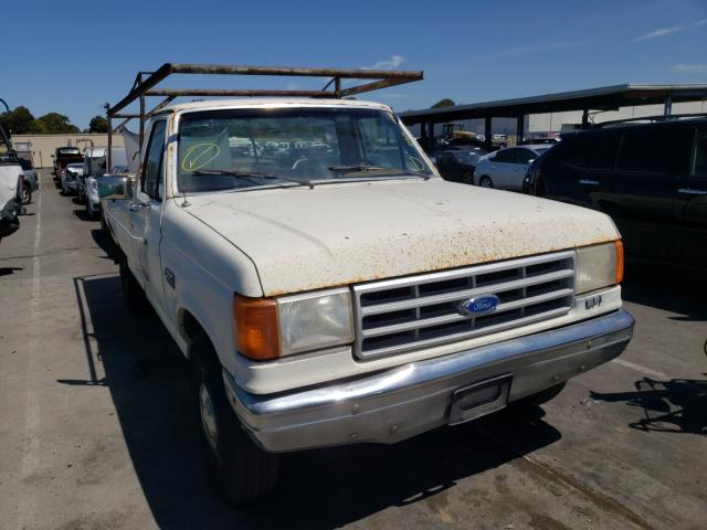 Ford F250 salvage cars for sale: 1990 Ford F250