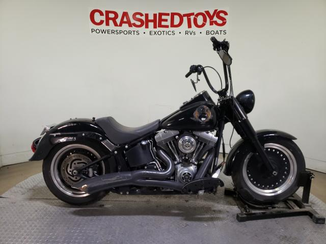 Salvage cars for sale from Copart Dallas, TX: 2010 Harley-Davidson FAT BOY
