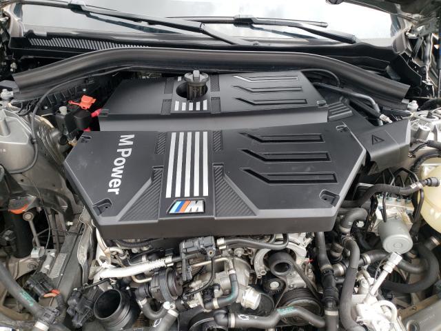 2020 BMW X3 M COMPE 5YMTS0C06LLT10229