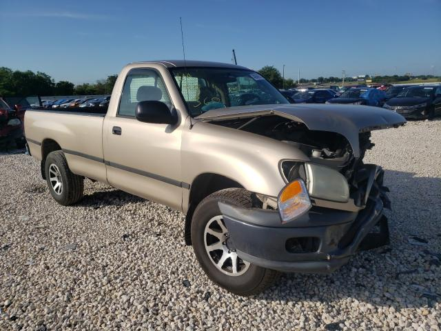 Salvage cars for sale from Copart New Braunfels, TX: 2002 Toyota Tundra