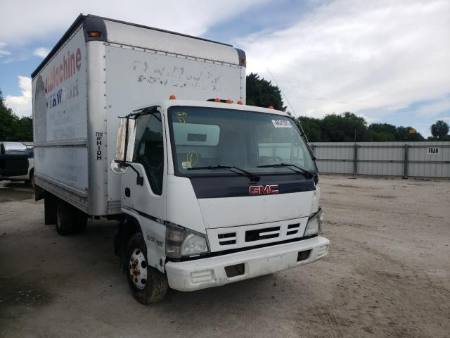 Salvage cars for sale from Copart Punta Gorda, FL: 2007 GMC W4500 W450