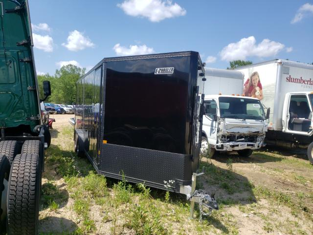 Salvage cars for sale from Copart Madison, WI: 2021 Ezgo Trailer