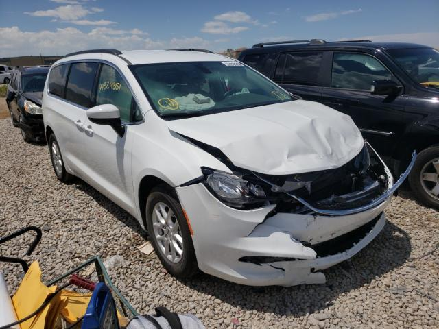 Salvage cars for sale at Magna, UT auction: 2021 Chrysler Voyager LX