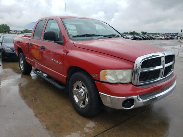 Salvage cars for sale from Copart Grand Prairie, TX: 2003 Dodge RAM 2500 S