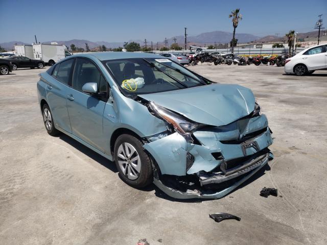 Vehiculos salvage en venta de Copart Sun Valley, CA: 2017 Toyota Prius