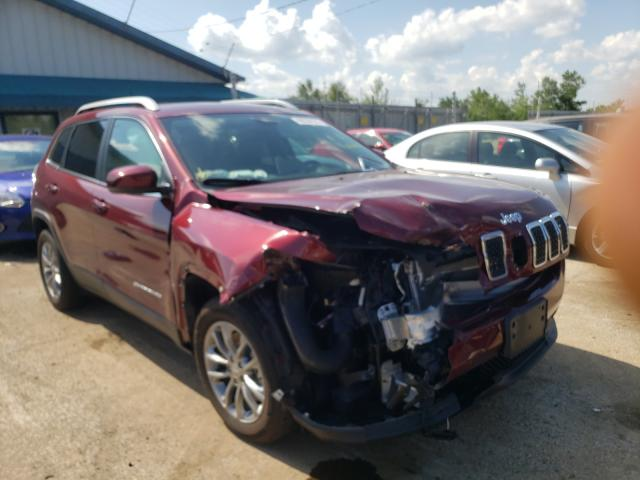 Salvage cars for sale from Copart Pekin, IL: 2019 Jeep Cherokee L