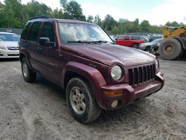 Salvage cars for sale from Copart Duryea, PA: 2002 Jeep Liberty LI