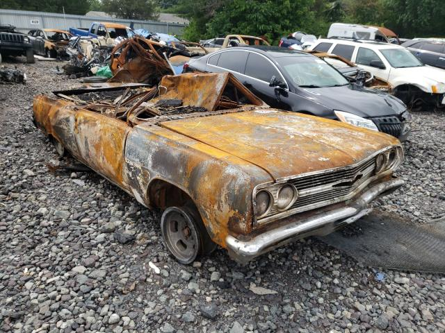 Chevrolet Chevelle salvage cars for sale: 1965 Chevrolet Chevelle