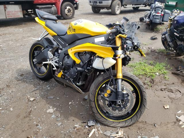 Salvage motorcycles for sale at Hillsborough, NJ auction: 2008 Yamaha YZFR6