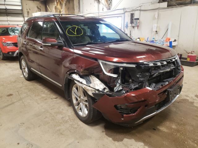 2016 Ford Explorer L en venta en Casper, WY