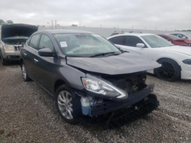 Salvage cars for sale from Copart Louisville, KY: 2019 Nissan Sentra S