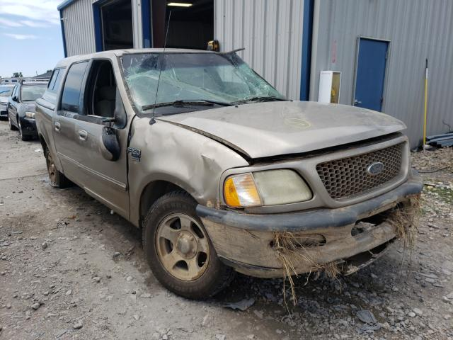 Salvage trucks for sale at Sikeston, MO auction: 2002 Ford F150 Super