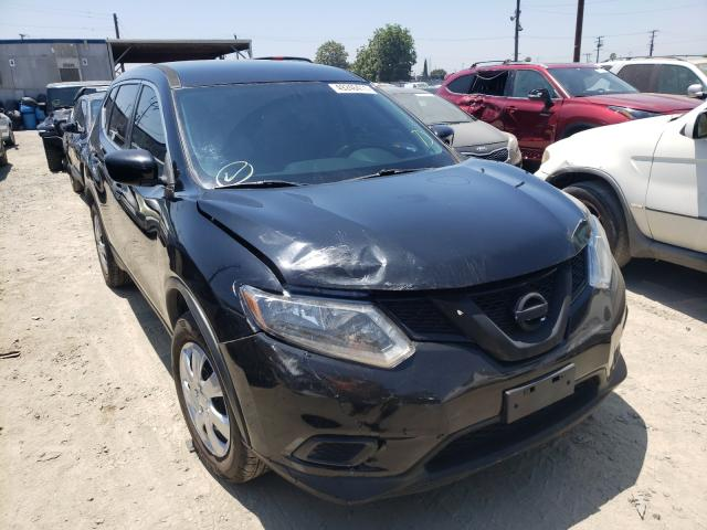 Salvage cars for sale from Copart Los Angeles, CA: 2016 Nissan Rogue S