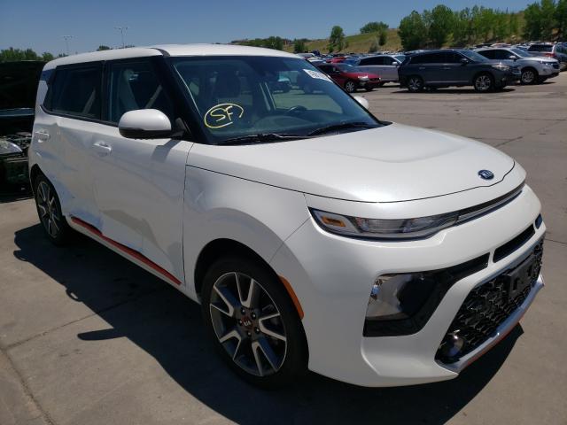 KIA salvage cars for sale: 2020 KIA Soul GT LI