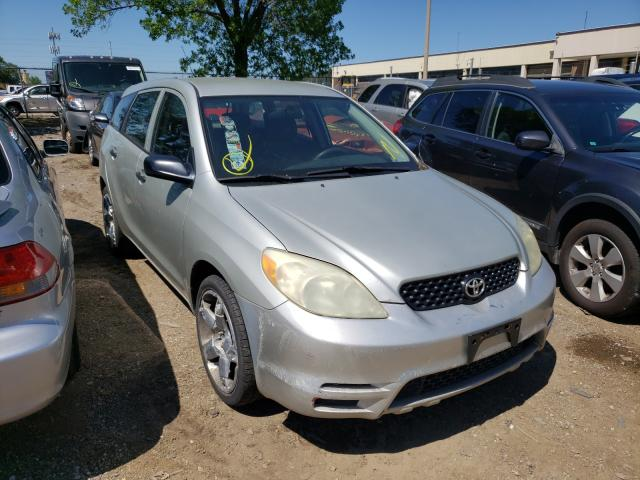 Salvage cars for sale from Copart Wheeling, IL: 2003 Toyota Corolla MA
