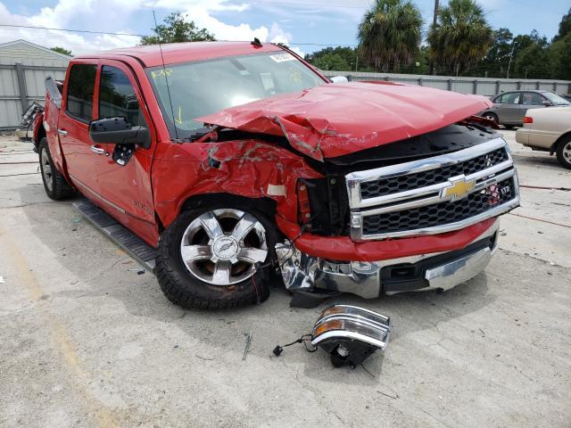 Salvage cars for sale from Copart Punta Gorda, FL: 2014 Chevrolet Silverado