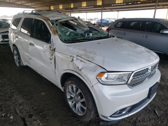 Salvage cars for sale from Copart Houston, TX: 2017 Dodge Durango SX