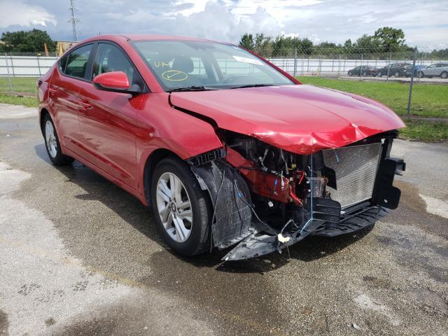 Salvage cars for sale from Copart Orlando, FL: 2020 Hyundai Elantra SE